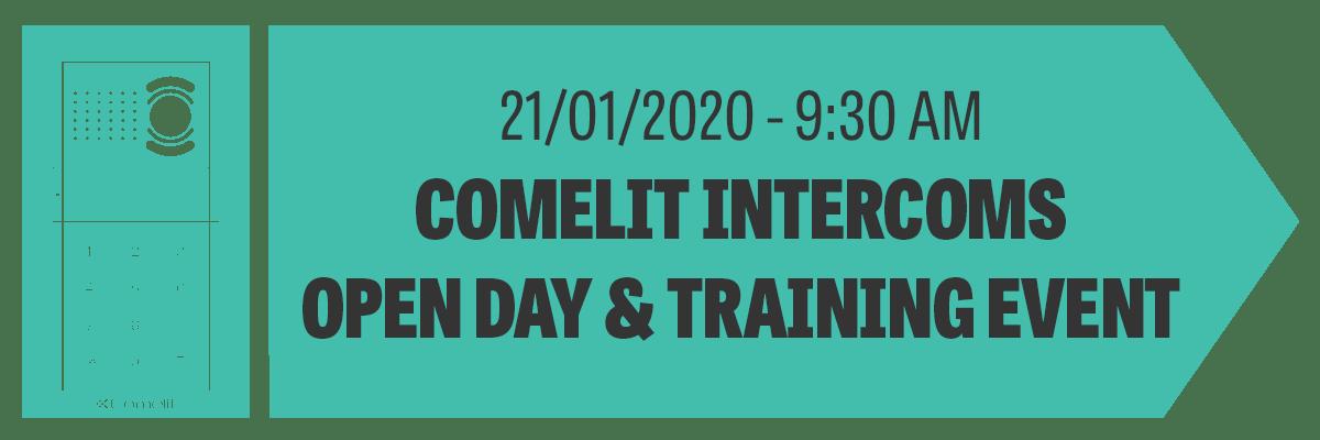 Comelit Intercom Door Entry Systems Training